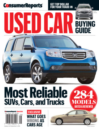 Consumer Reports Cars & Technology Guides Sep 16