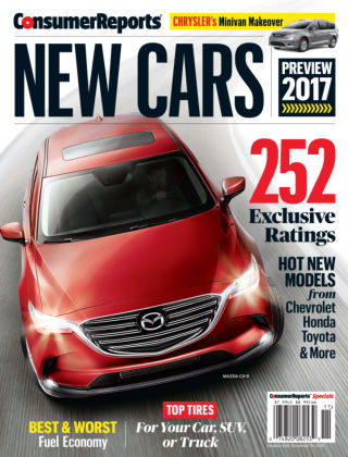 Consumer Reports Cars & Technology Guides Nov 2016