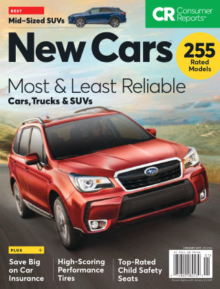 Consumer Reports Cars & Technology Guides Jan 2017