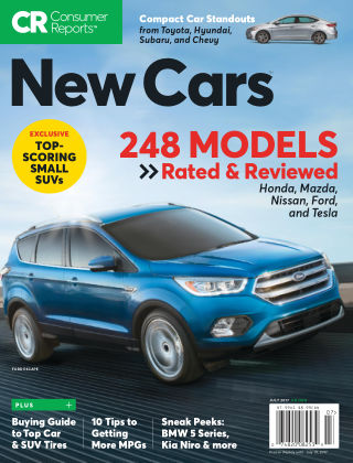 Consumer Reports Cars & Technology Guides July 2017