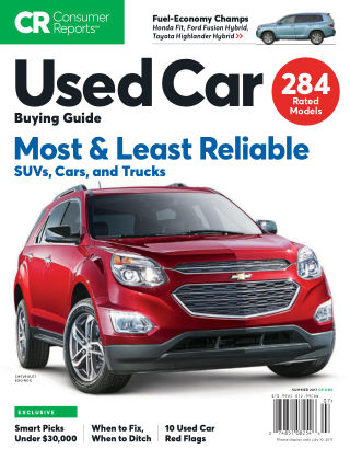 Consumer Reports Cars & Technology Guides Used Car Buying
