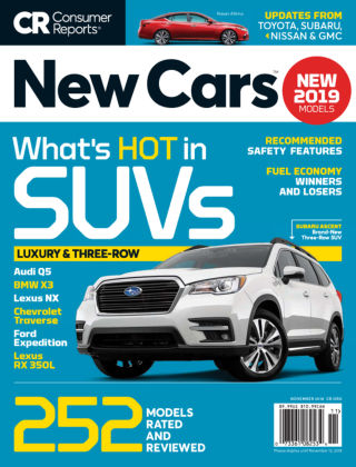 Consumer Reports Cars & Technology Guides New Cars Nov 2018