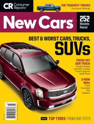 Consumer Reports Cars & Technology Guides New Cars Mar 2020