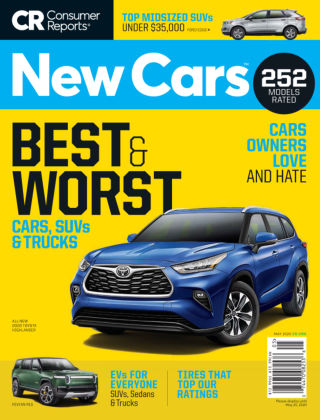 Consumer Reports Cars & Technology Guides New Cars May 2020
