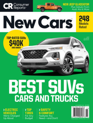 Consumer Reports Cars & Technology Guides New Cars Nov 2019