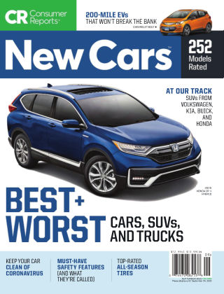 Consumer Reports Cars & Technology Guides September 2020
