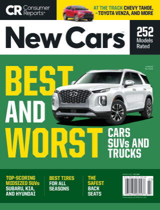Consumer Reports Cars & Technology Guides March 2021