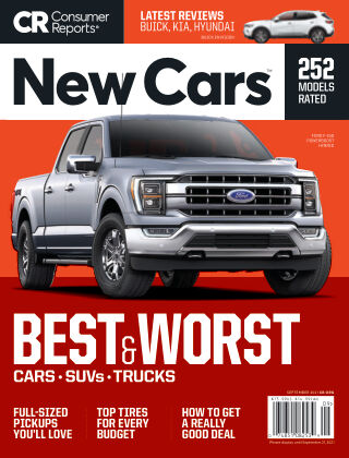 Consumer Reports Cars & Technology Guides September 2021