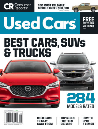 Consumer Reports Cars & Technology Guides September