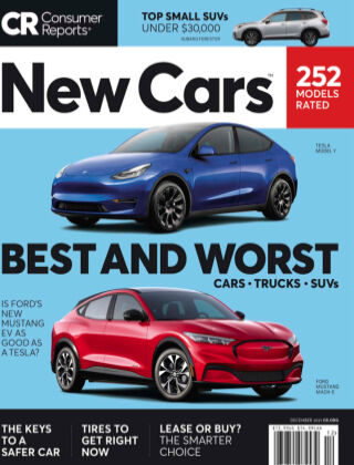 Consumer Reports Cars & Technology Guides New Cars Dec 2021