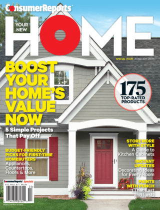 Consumer Reports Health & Home Guides Feb 2016
