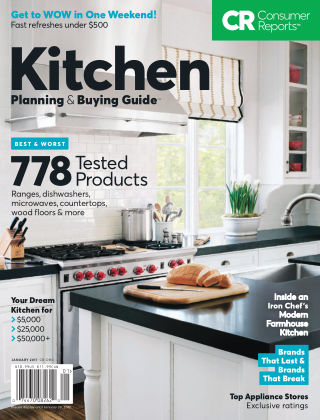 Consumer Reports Health & Home Guides Jan 2017