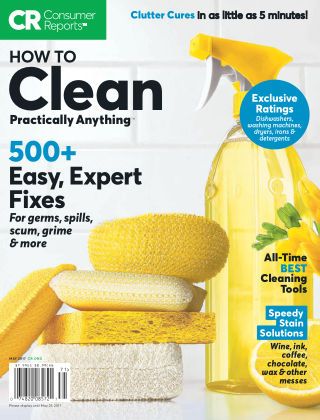 Consumer Reports Health & Home Guides May 2017
