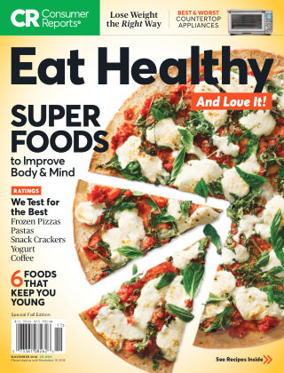 Consumer Reports Health & Home Guides Eat Healthy Nov 2018