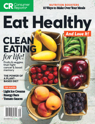 Consumer Reports Health & Home Guides Eat Healthy Sep 2019