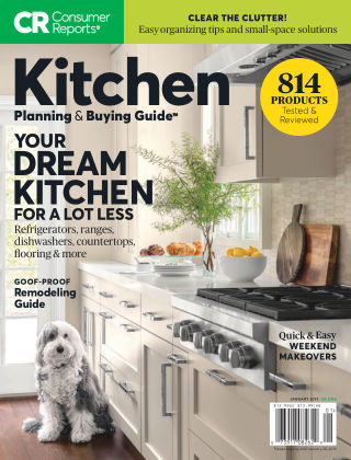 Consumer Reports Health & Home Guides Kitchen