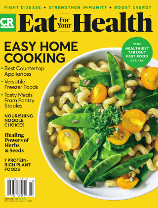 Consumer Reports Health & Home Guides October 2020