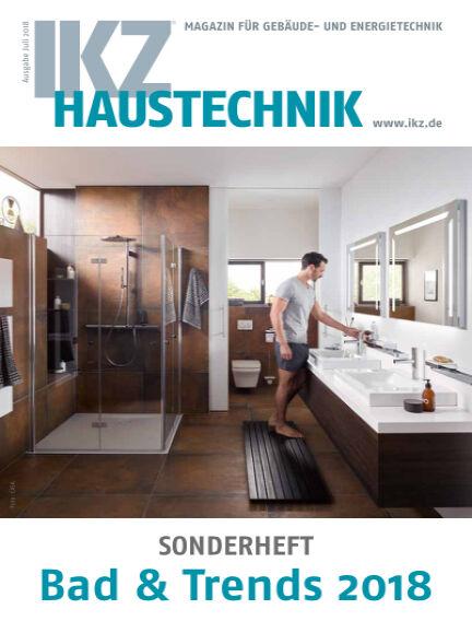 IKZ Haustechnik Bad & Trends July 06, 2018 00:00