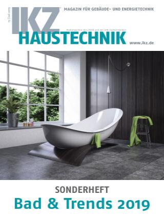 IKZ Haustechnik Bad & Trends Nr. 01 2019