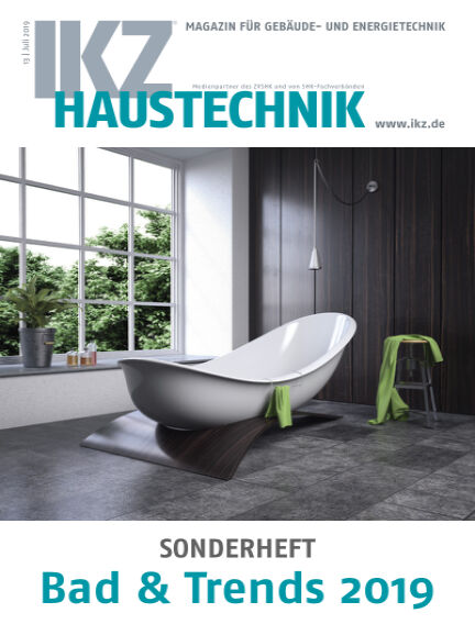 IKZ Haustechnik Bad & Trends July 12, 2019 00:00