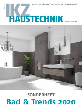IKZ Haustechnik Bad & Trends Nr. 01 2020