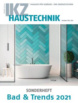 IKZ Haustechnik Bad & Trends Nr. 01 2021