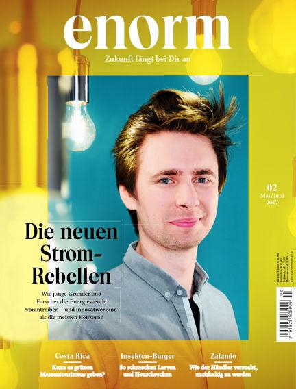 enorm Magazin April 29, 2017 00:00