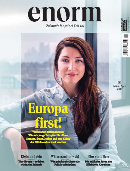 enorm Magazin February 24, 2017 00:00