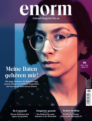 enorm Magazin 06/16