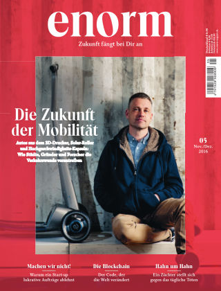 enorm Magazin 05/16