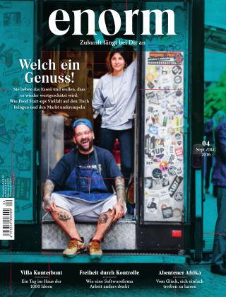 enorm Magazin 04/16
