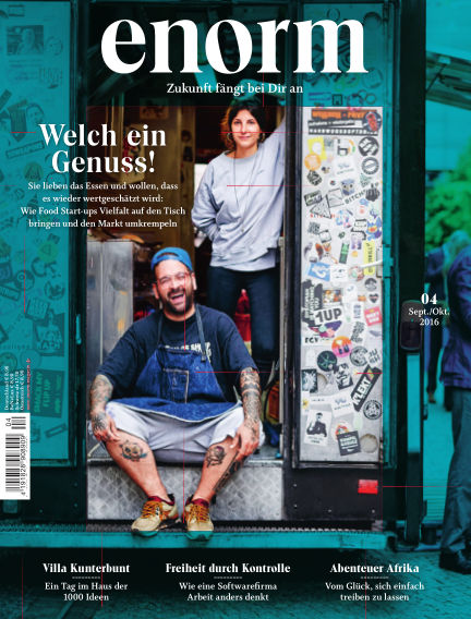 enorm Magazin August 26, 2016 00:00