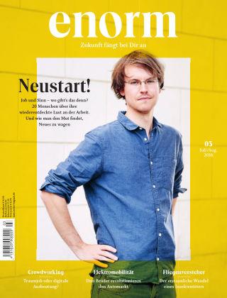 enorm Magazin 03/16