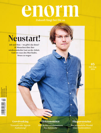 enorm Magazin June 24, 2016 00:00