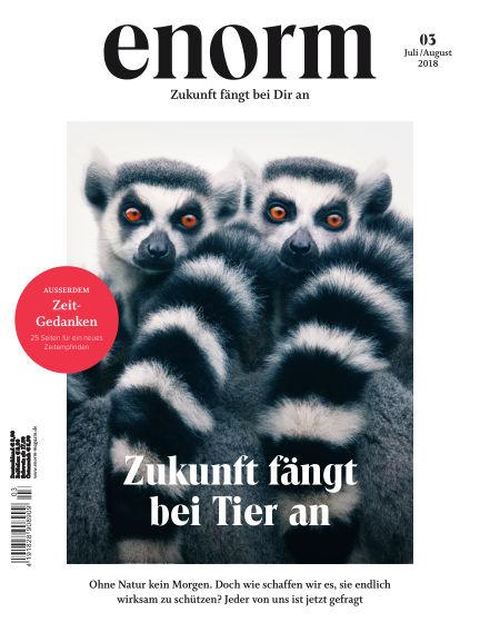 enorm Magazin June 23, 2018 00:00