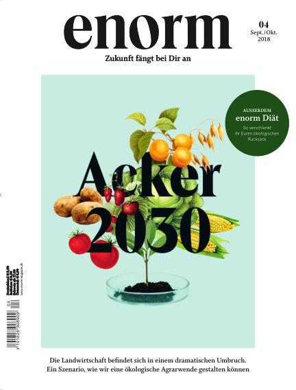 enorm Magazin September 01, 2018 00:00