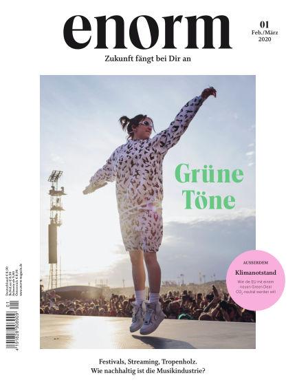enorm Magazin February 22, 2020 00:00