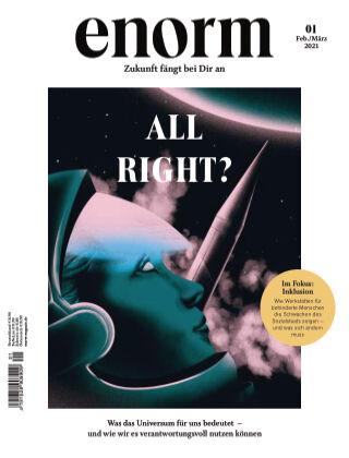 enorm Magazin 01/21