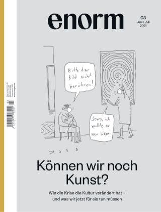 enorm Magazin 03/21