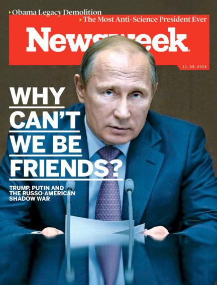 Newsweek US November 20, 2016 00:00