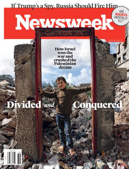 Newsweek US September 01, 2017 00:00