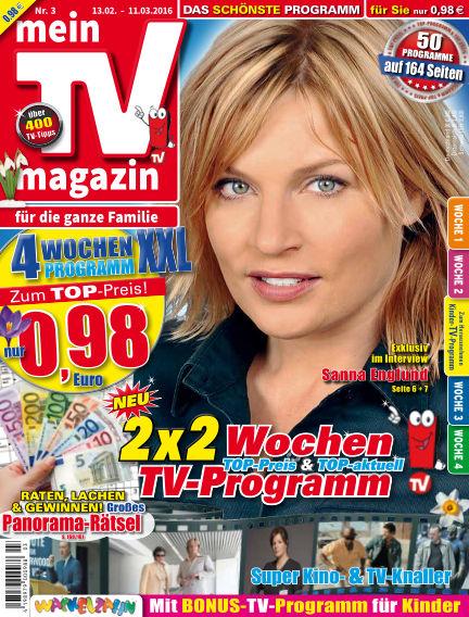 mein TV-magazin February 15, 2016 00:00