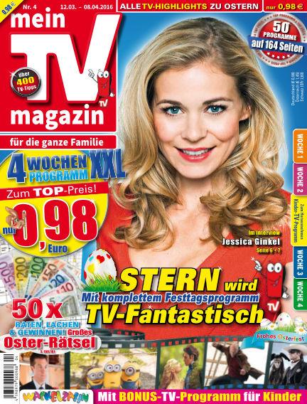 mein TV-magazin March 10, 2016 00:00