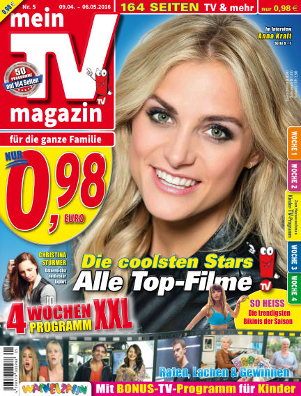 mein TV-magazin April 08, 2016 00:00