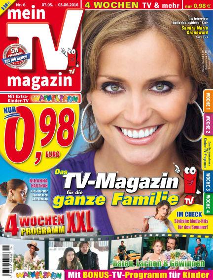 mein TV-magazin May 07, 2016 00:00