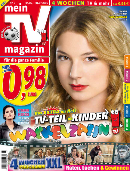 mein TV-magazin June 02, 2016 00:00