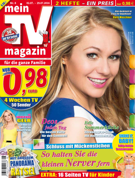 mein TV-magazin July 01, 2016 00:00