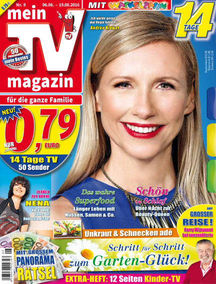 mein TV-magazin August 05, 2016 00:00