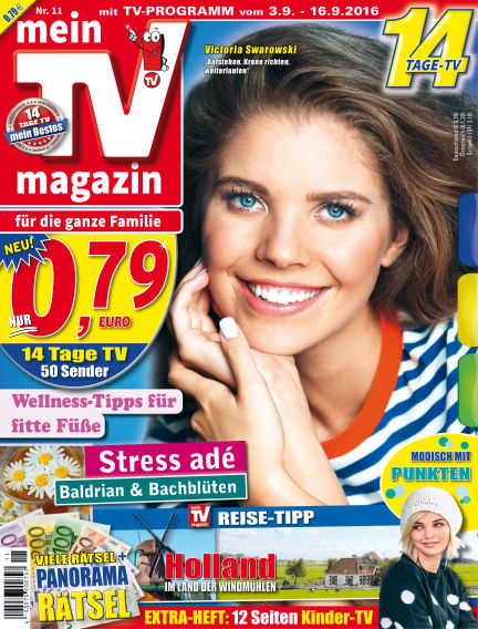 mein TV-magazin September 03, 2016 00:00