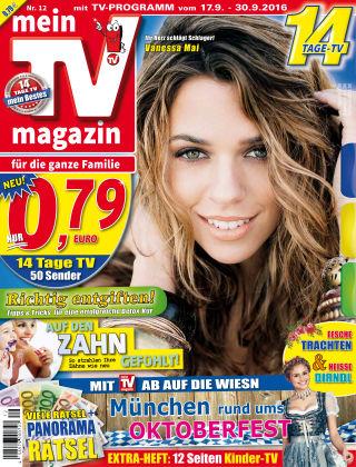 mein TV-magazin 12/2016